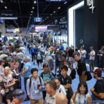 Crowds on the show floor