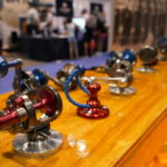 A selection of reels on the ICAST show floor