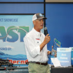 ASA President Glenn Hughes presents Best of Show award