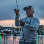 An ICAST Cup competitor readies his gear